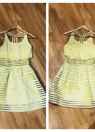 Стильное воздушное платье на лето