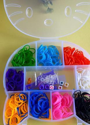 Набор резинок для плетения браслетов