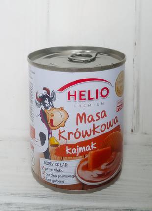 Сгущеное молоко вареное с карамельным вкусом HELIO 400гр. (Пол...