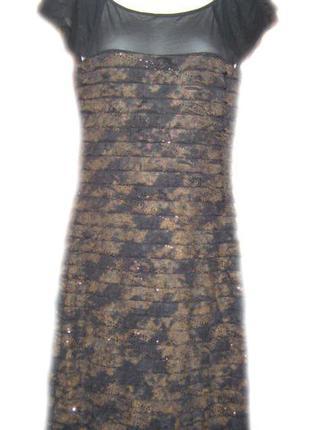 Платье женское нарядное, рюшки
