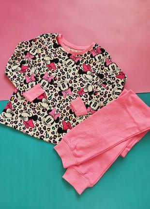 Хлопковая пижама на девочку