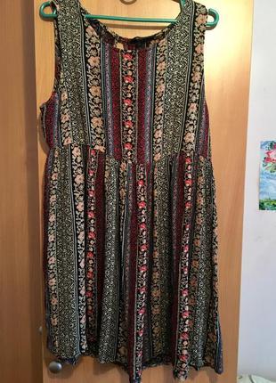 Сарафан платье стиль бохо красивый пошив