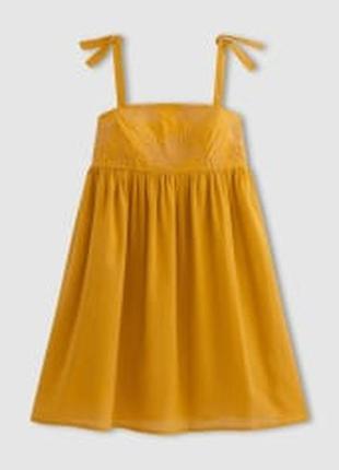 Платье сарафан с вышивкой mademoiselle r