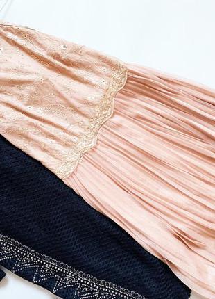 Платье с плиссе oasis