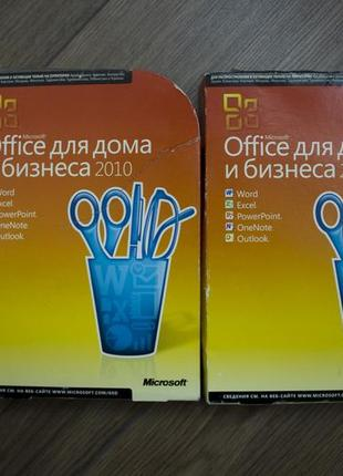 MICROSOFT Office Home & Business 2010 Russian 1 ПК Box (T5D-00412