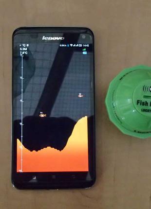 Эхолот беспроводной для смартфона Lucky FF916 WIFI. Гарантия!