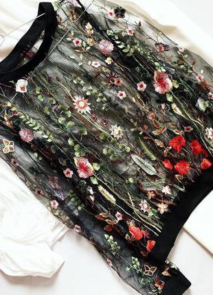 Блуза с вышивкой mandi