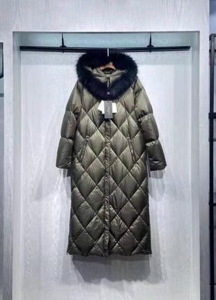 Пуховик\пуховое пальто куртка max mara