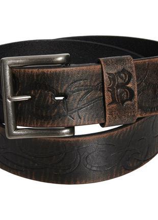 Мужской  кожаный ремень вестерн  bed stu оригинал из сша