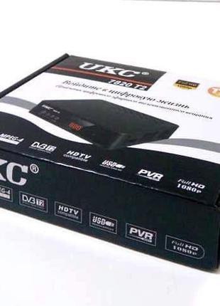 Тюнер ресивер DVB-T2 UKC