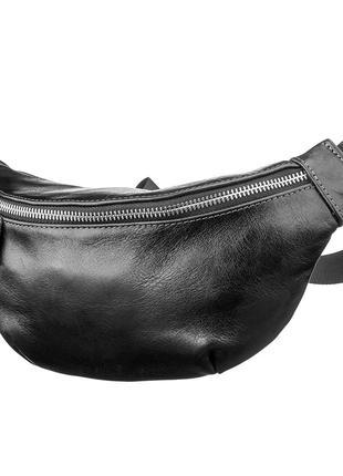 Поясная сумка GRANDE PELLE 11140 Черная