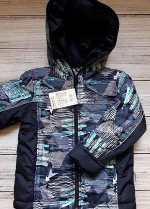 Демисезонная теплая куртка для мальчика