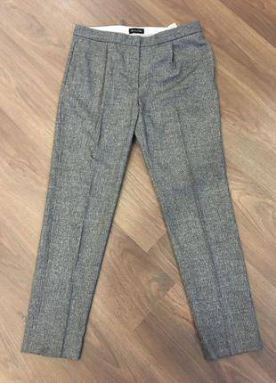 Прекрасные теплые классические брюки massimo dutti !!!!