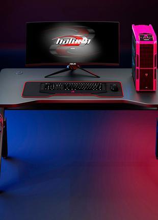 Компьютерный стол 1000 х 600 х 750mm с подсветкой RGB