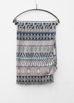 Широкий женский  шарф палантин