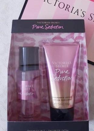 Victoria's secret pure seduction подарочный набор