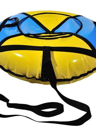 Тюбинг 100 см (надувные санки из ПВХ и Оксфорд)