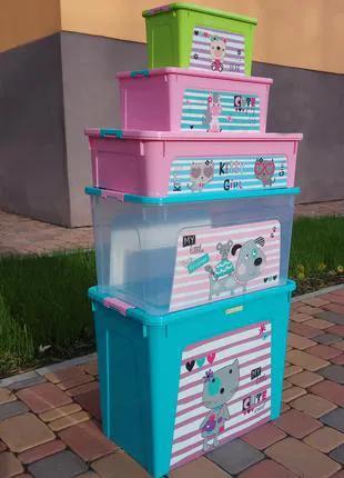"""Комплект """"Smart Box"""" с декором Pet Shop 5шт"""