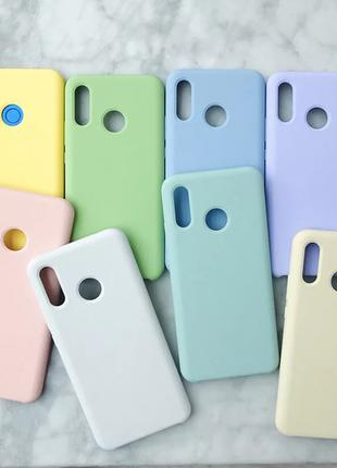 TPU чехол накладка Candy для Huawei P Smart Plus (10 цветов)