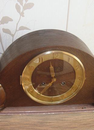 Часы каминные настольные с маятником и боем Германия