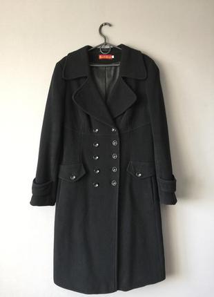 Шерстяное пальто bordo style 14--48 размер.