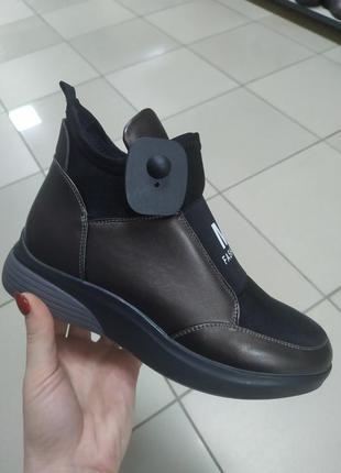 Женские деми стильные ботинки