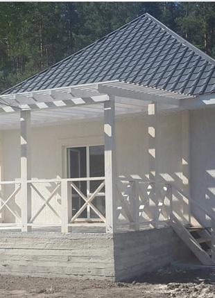Продам новый дом рядом с лесом