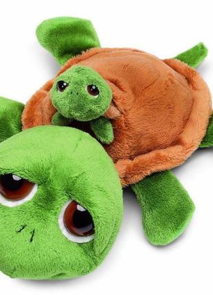 Мягкая игрушка suki li'l peepers зуки морская черепаха с малыш...