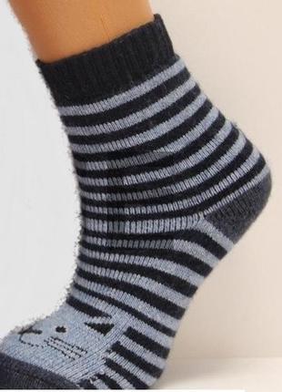 Носки теплые шерстяные махровые шерсть теплі шерстяні махрові