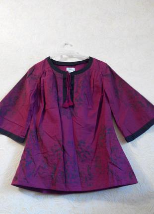 Стильный милыйй топ/ рубашка/блуза хлопок