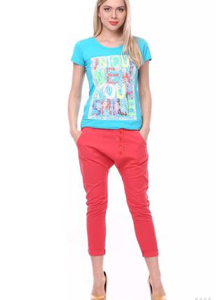 Укороченые летние брюки mia kruse