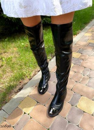 🍁ботфорты с железным носком