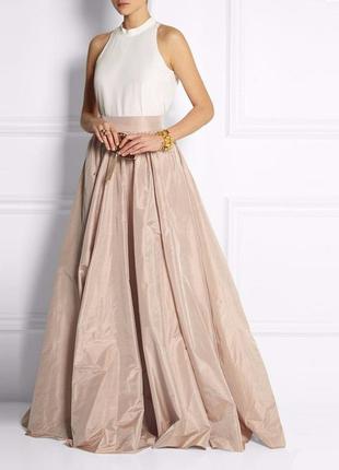 Шикарная подиумная юбка цвет пыльной розы от известного дизайн...