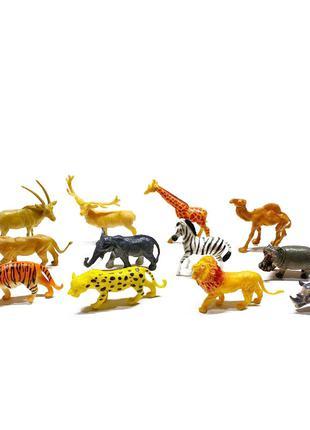 Игровой набор животных 2066B 12 шт в наборе