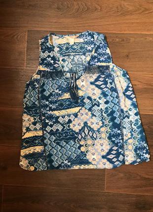 Летняя майка футболка без рукавов
