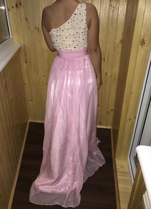 Платье длинное выпускное вечернее