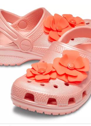 Сабо клоги crocs classic vivid blooms