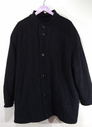 Пальто мужское на пуговицах весна - осень размер 54 ( наш 60)