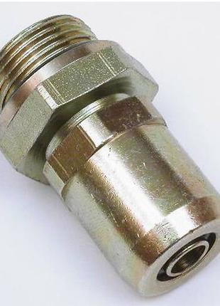 Соединитель прямой m22mm ø18mm трубка