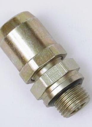 Соединитель прямой m16mm ø10mm трубка