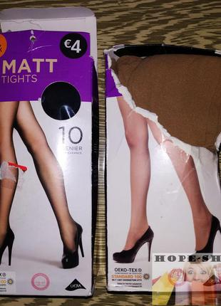 Колготки primark 10denier  matt tights .l/xl