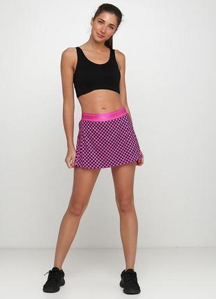 Спортивные юбки платье nike court dry skirt str оригинал! - 20%