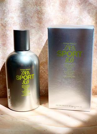 Мужские духи zara sport 8.0/чоловічі парфуми /туалетна вода