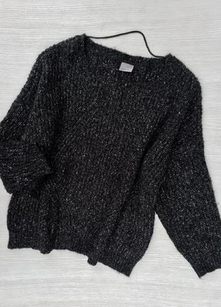 Тёплый меланжевый свитер vero moda
