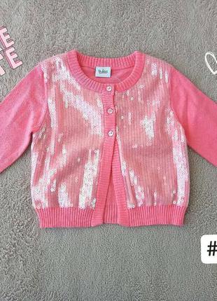 Светрик рожевий новий | blukids | для дівчаток