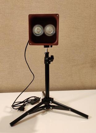 Лампа Суржина Право-Спирального Торсионного Поля на штативе