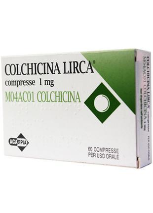 Колхицин (Colchicina) таблетки, 60 шт