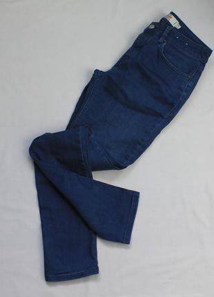 Темные мужские джинсы скинни зауженные