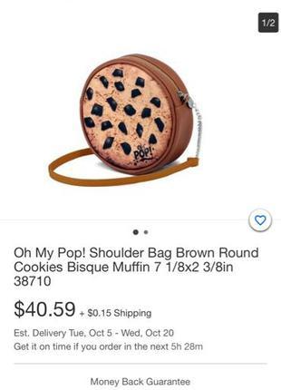 брендовая сумка-печенько oh my POP