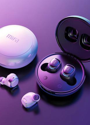 Mifa X8 беспроводные наушники 100% оригинал белые/черные в наличи